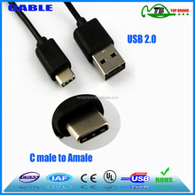 2015 USB 3.1 Type C cable to USB 2.0 Data Cable factory direct