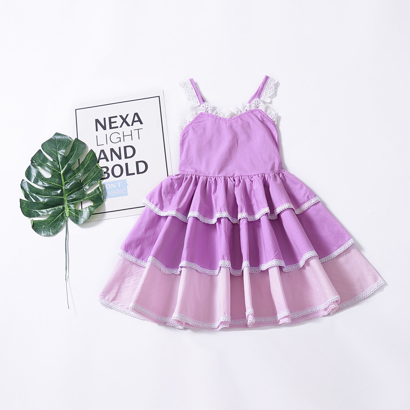 b5b8c03d9115 Cupcake Girls Puffy Party Ruffled Wear Dress Unique Baby Girl Names ...