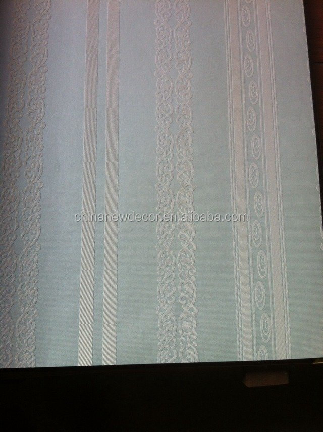 3D Luxury Non-woven Fabric Wall paper Wallpaper Roll