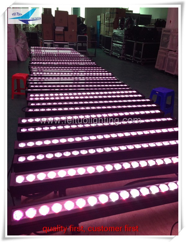 24x10w rgbw led round wall washer/10w outdoor led wall fixture