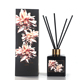 M&SENSE Gorgeous Collection Scented Black Aroma Decorative Glass Bottle Reed Diffuser
