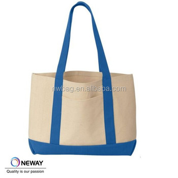 Cotton Canvas Boat Tote Bag Heavy Duty Ping Bags Product On Alibaba