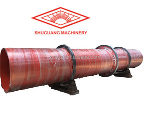 Drying Equipment / Feeds Rotary Drum Sawdust Dryer
