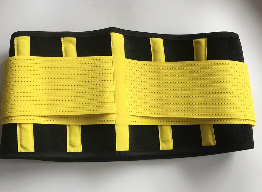 Ademend Zweet Workout Belt Taille Trimmer Afslanken Band Gewichtsverlies Fitness Taille Trainer Riem voor Vrouwen