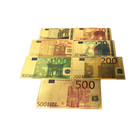 999.9 gold foil EURO Collectible Banknote