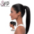 Raw Indian Virgin Human Hair Straight Drawstring Ponytail Extension Directly From India