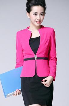 Wholesale Custom Fashion Ladies Formal Suits Designs Elegant Lady