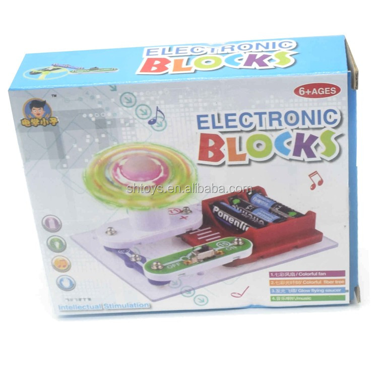 Venta Caliente Fibra Optica Bloques Electronicos Juegos Educativos
