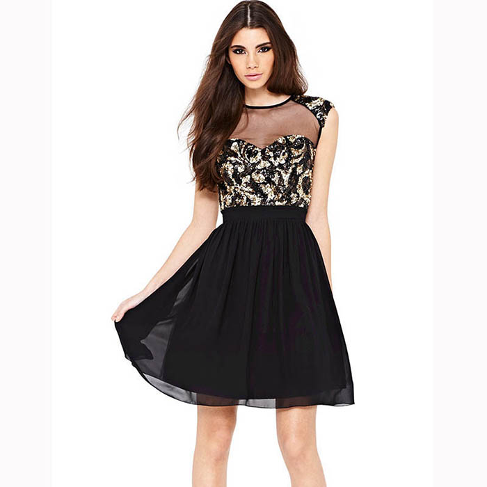 2019 Luxury Party <strong>Dress</strong> For Women A-Line <strong>Skater</strong> Mesh Vintage Retro Embroidery <strong>Lace</strong> <strong>Dress</strong>