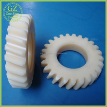 self libricating oil Nylon plastic pinion helical gears