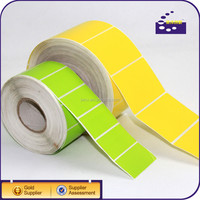 self-adhesive stickers waterproof printing label color vinyl sticker paper