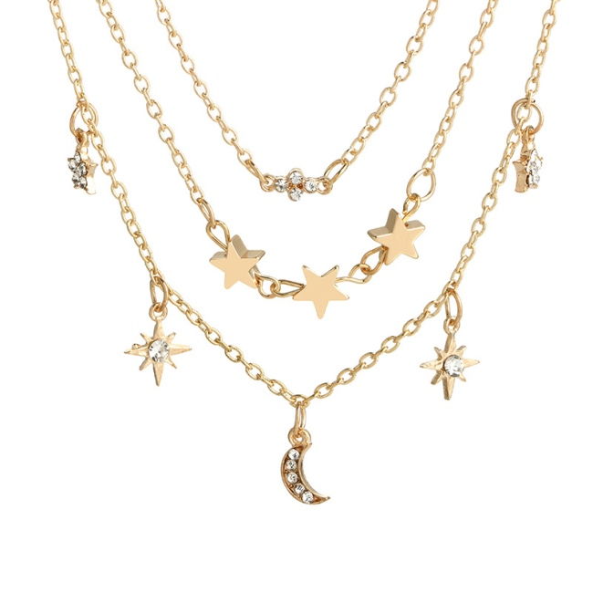 Women Accessories Multilayer Minimalism Necklace фото