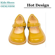 J-C0260 Colorful Patent Leather Baby Girls Toddlers Shoe Casual Shoes Hard Sole Babies Dressed Shoes