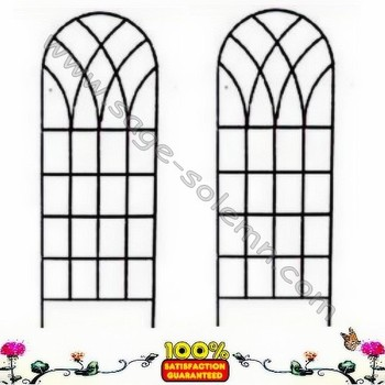 Merveilleux Decorative Garden Metal Trellis, Steel Plant Support