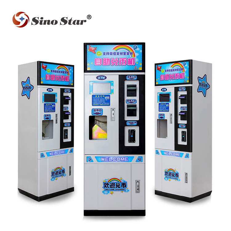 Sino Ster fabrikant hot koop ict munt wisselaar machine voor arcade game machine