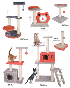 Wholesale hot sale funny cat tree/house/scratcher