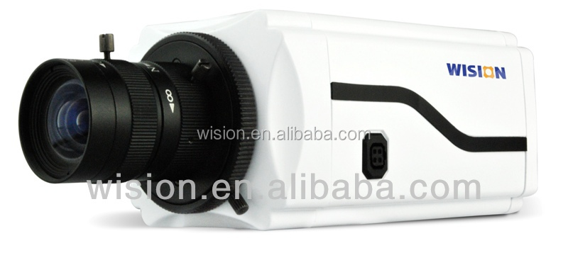 ONVIF 3MP IP Box camera, vari-focus lens, manual focus, WDR
