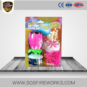 Wholesale Indoor Magic Lotus Flower Fireworks Birthday