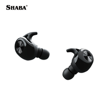 Shaba 2018 amazon hot elektronik Mode Sport Wasserdichte Tws 5,0 Ture Wireless tws headset