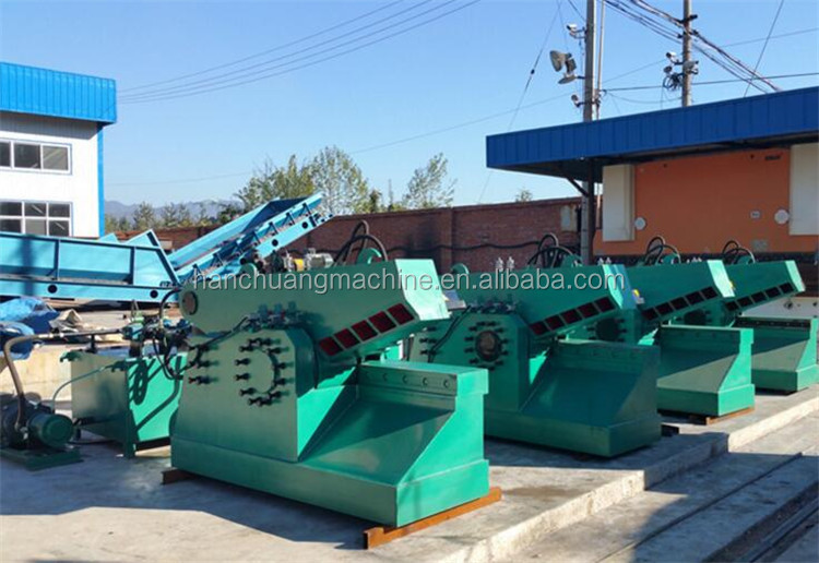 crocodile hydraulic shearing machine series alligator scrap metal shears for sale waste sheet shears