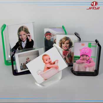 Wholesale Custom Acrylic Lucite Plastic L Shaped Picture Photo