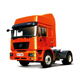 China 6*4 FAW J6 container semi trailer truck tractor International tractor truck