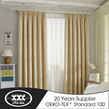 Brand new high-quality double layer hotel curtain with good quality