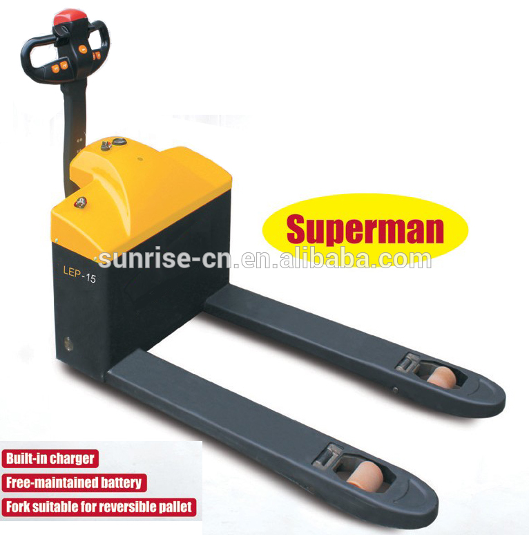 Brand new loading electric pallet truck