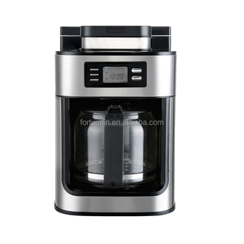 Automatic Coffee Machine With Coffee Bean Grinder Buy Coffee Maker