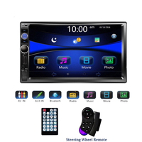 "Universal 2 din Car Multimedia Player Autoradio 2din Stereo 7"" Touch Screen Video MP5 Player Auto Radio Support Backup Camera"
