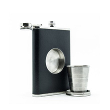 Stainless Steel Shot Hip Flask