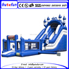 Cheap giant multiplay camelot theme inflatable castle slide for sale
