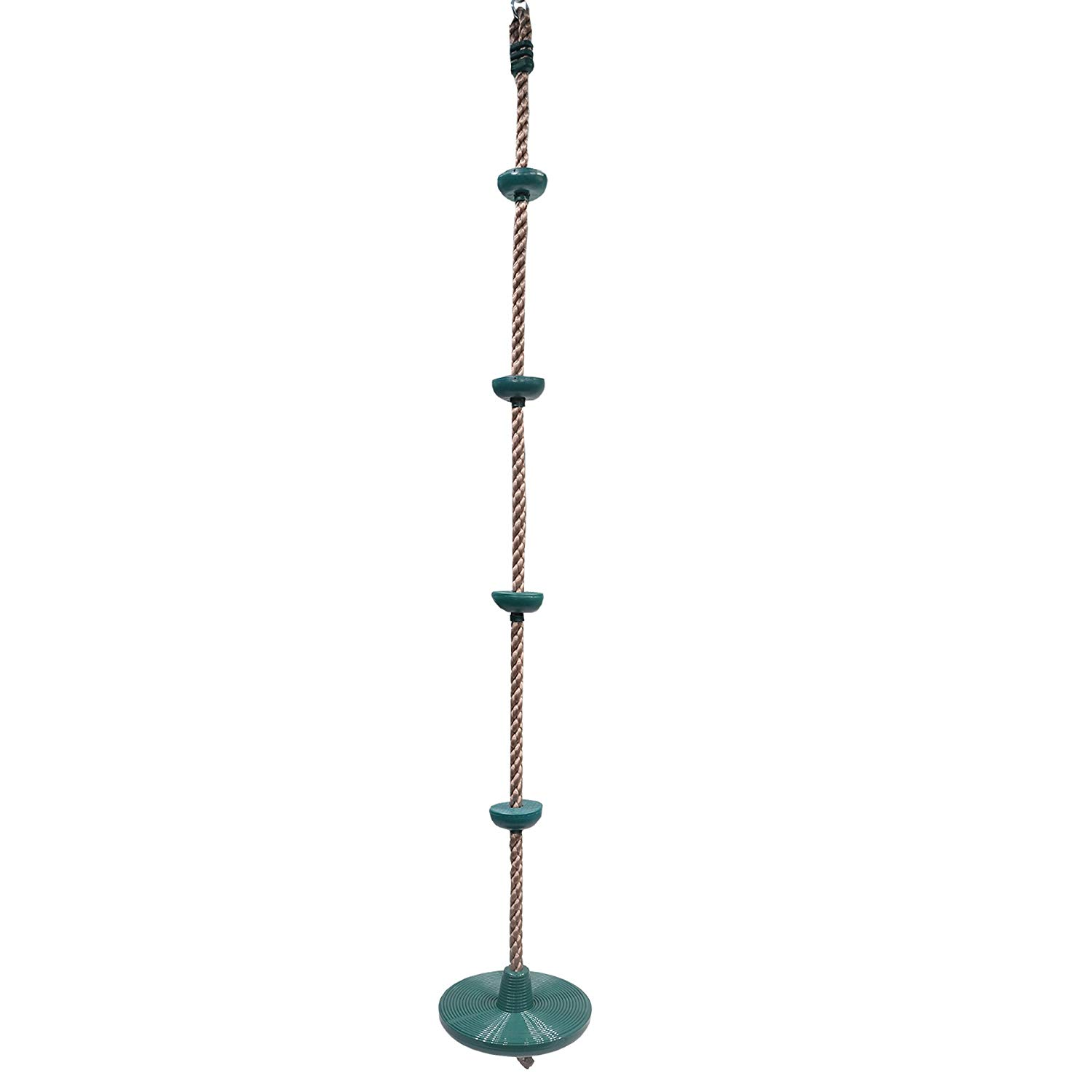 Barcaloo Climbing Rope with Disc Swing Seat - Playground Equipment Set