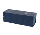 Gift Wine Box Blue Cardboard Red Wine Towel Gift Box Luxury Watch Box Watch Boxes Cases