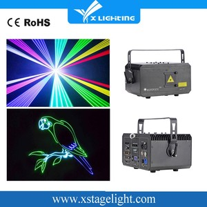 RGB laser light price 6W 8W Animation Outdoor Laser Light