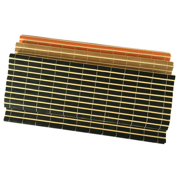 Heat Protective Dining Bamboo Table Plate Mat