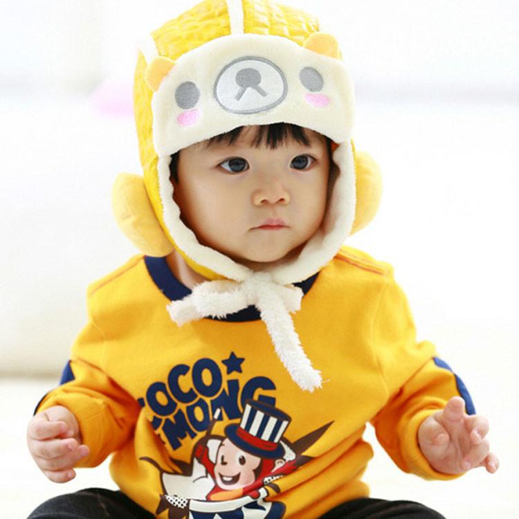 f69cd1e60b6 Get Quotations · Retail Free Shipping Cute Bear Kids BOY GIRL Fur Caps  Children Leifeng Hats 2014 New