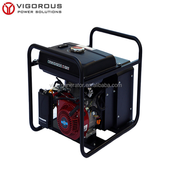 Single phrase OHV engine driven gasoline arc welder for sale