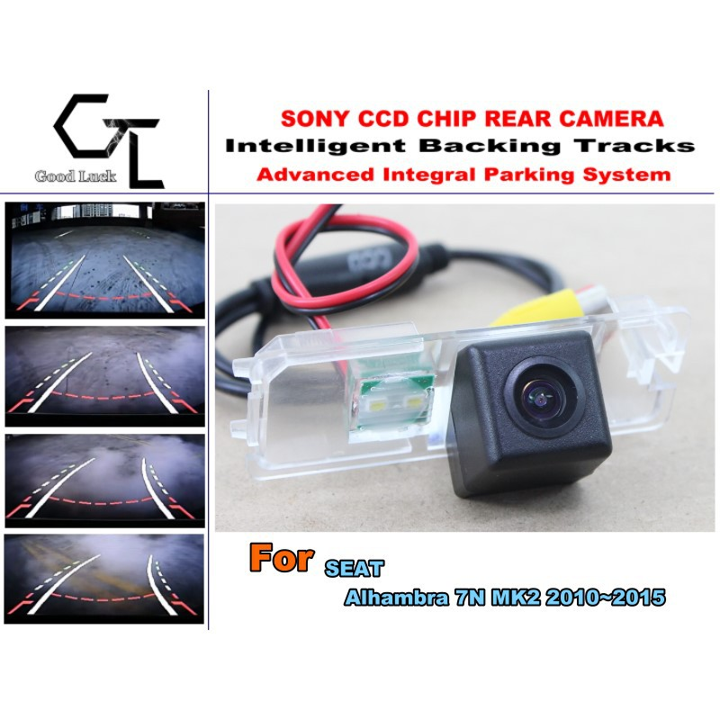CCD For SEAT Alhambra 7N MK2 2010 2015 HD Car Back Up camera Night Vision Parking