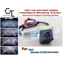 CCD  For SEAT Alhambra 7N MK2 2010~2015  HD Car Back Up camera  Night Vision Parking Assistance Tracks Module