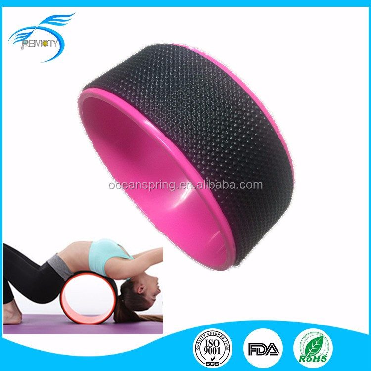 fashionable yoga wheel for relax in home