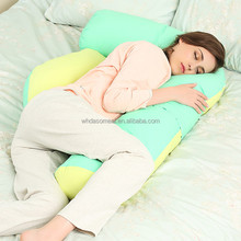 high quality fashion F shape cuddle sleep pillow for maternity pregnancy in stock