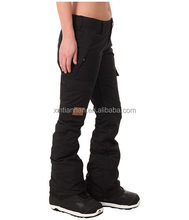 OEM polyester waterproof cotton padded adults Snowboard Pants unisex Ski Pants Snow pants