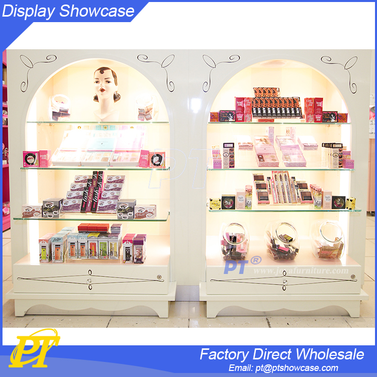 2016 Customized hot sales white Cosmetic bar furniture /small counter display racks / bar countertops for sale