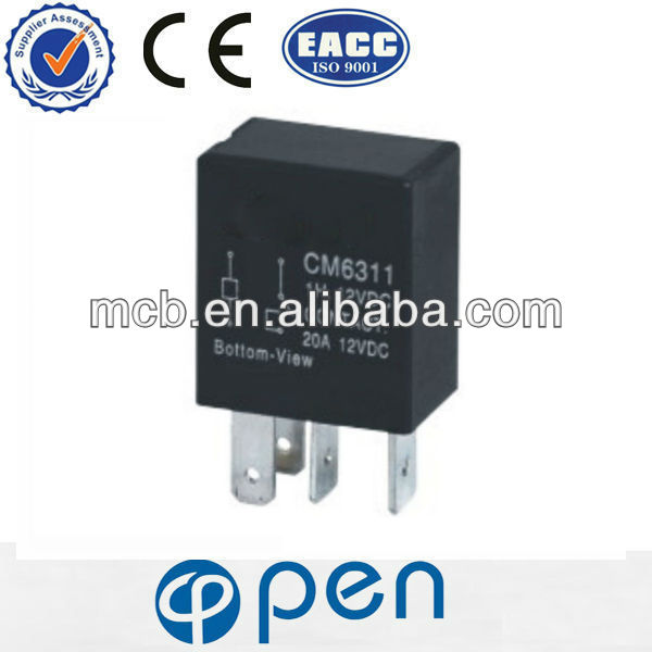 Hot sales CM6311 auto car fuse relay