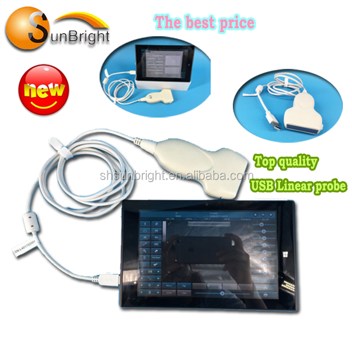 CE USB Linear Probe Type Ultrasound USB Ultrasound Scanner/USB convex probe price