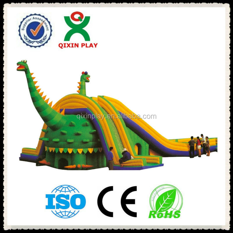 2015 New Design Dinosaur Theme Inflatable Slide Largest Inflatable ...