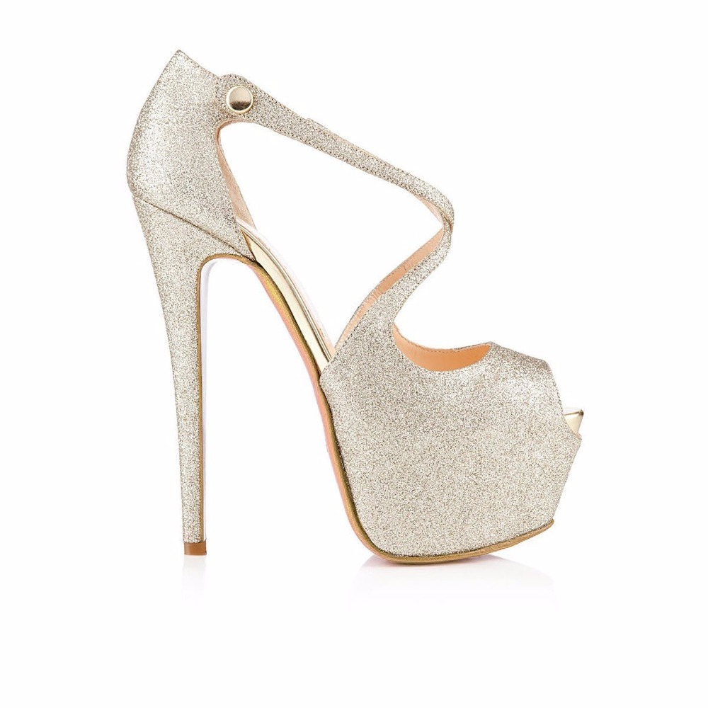 handmade High shoes heeled sandals platform UqtPYp
