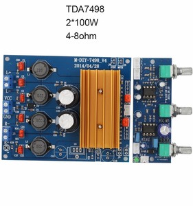 TDA7498 2ch Class D digital power amplifier kit