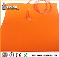 Flexible silicone rubber heater pet heating pad for pet
